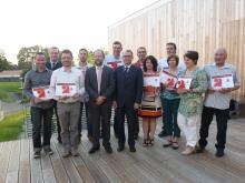 Une dizaine d'artisans du canton de St Fulgent à l'honneur