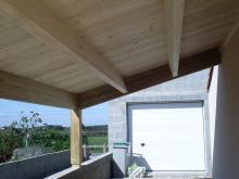 Construction Bois Vendée préau
