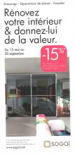 SOGAL lance une campagne promotionnelle du 15 mai au 30 septembre 2012
